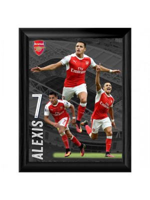 Arsenal FC Framed Print Sanchez 16 x 12