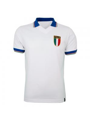 Copa Italy Away Wc 1982 Short Sleeve Retro Shirt