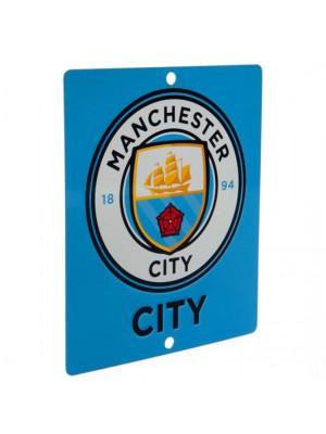 Manchester City FC Window Sign SQ