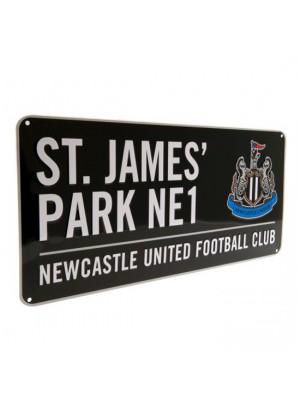 Newcastle United FC Street Sign BK