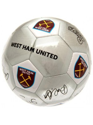 West Ham United FC Football Signature SV