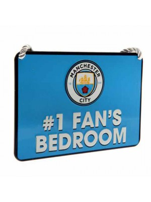 Manchester City FC Bedroom Sign No1 Fan