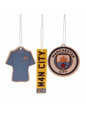 Manchester City FC 3pk Air Freshener
