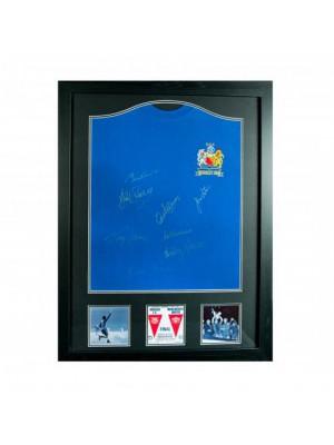 Manchester United FC 1968 European Cup Final Signed Shirt (Framed)