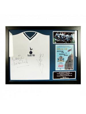 Tottenham Hotspur FC Ardiles & Villa Signed Shirt (Framed)