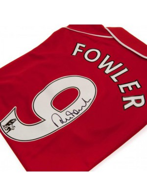 Liverpool FC Fowler Signed Shirt