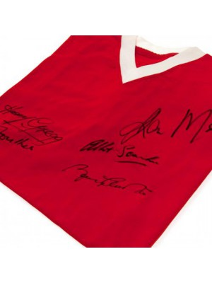 Manchester United FC 1958 Busby Babes Signed Shirt