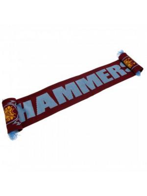 West Ham United FC Scarf HM