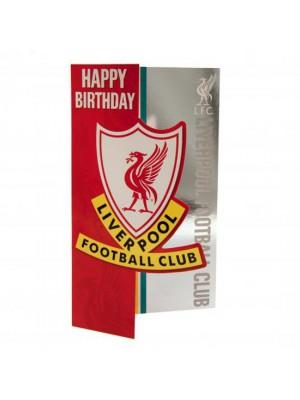 Liverpool FC Birthday Card