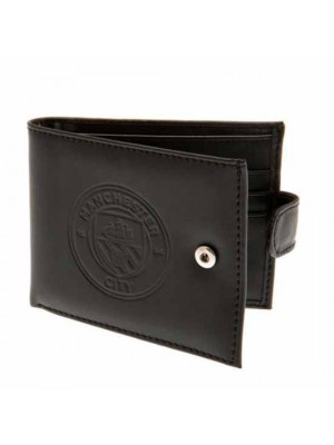Manchester City FC rfid Anti Fraud Wallet
