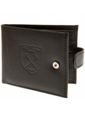 West Ham United FC rfid Anti Fraud Wallet