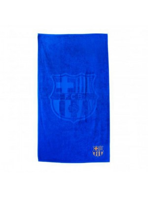 FC Barcelona Embroidered Towel