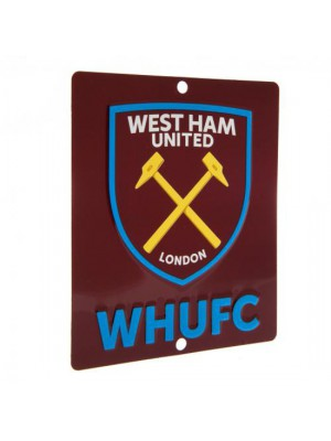 West Ham United FC Window Sign SQ