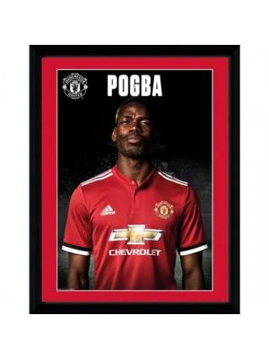 Manchester United FC Picture Pogba Profile 16 x 12