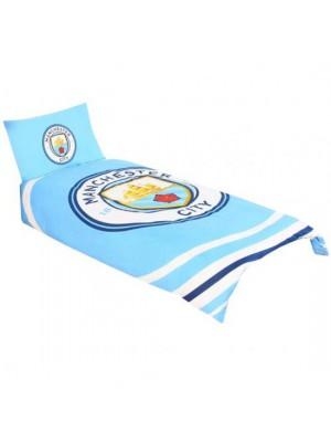 Manchester City FC Single Duvet Set PL