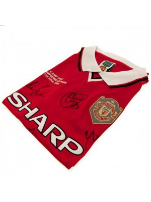 Manchester United FC 1999 Champions League Final Signed Shirt