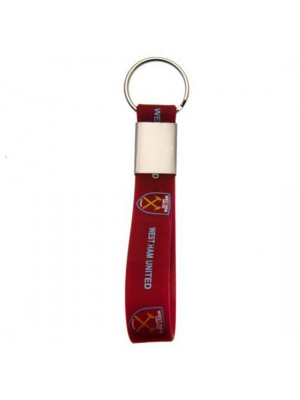 West Ham United FC Silicone Keyring