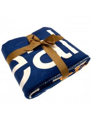Real Madrid FC Sherpa Fleece Blanket
