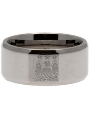 Manchester City FC Band Ring Large EC