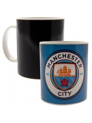 Manchester City FC Heat Changing Mug GR