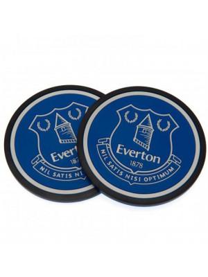 Everton FC 2 pack Coaster Set