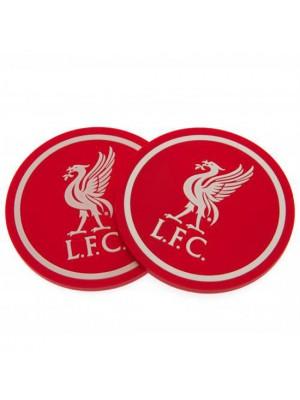 Liverpool FC 2 Pack Coaster Set