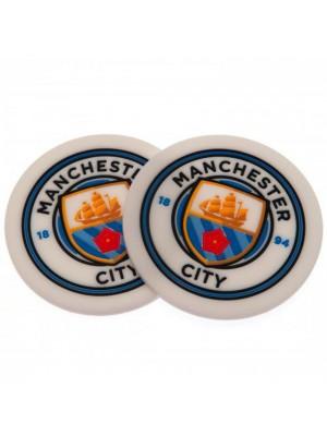 Manchester City FC 2 Pack Coaster Set