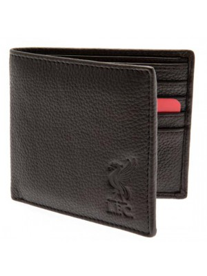Liverpool FC Brown Leather Wallet