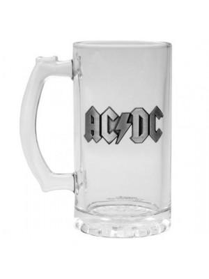 AC/DC Glass Tankard