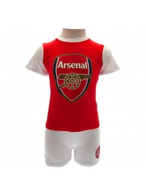Arsenal Fc T Shirt & Short Set
