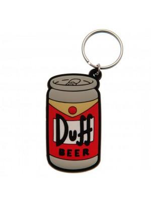 The Simpsons Keyring Duff Beer