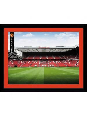 Manchester United FC Picture Stretford End 16 x 12