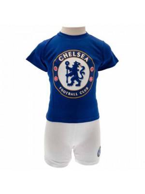 Chelsea FC T Shirt & Short Set 6/9 Months