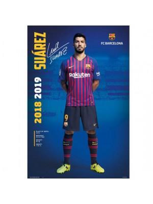 FC Barcelona Poster Suarez 30