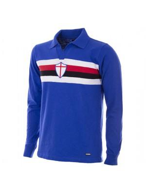 UC Sampdoria 1956 - 57 Short Sleeve Retro Football Shirt