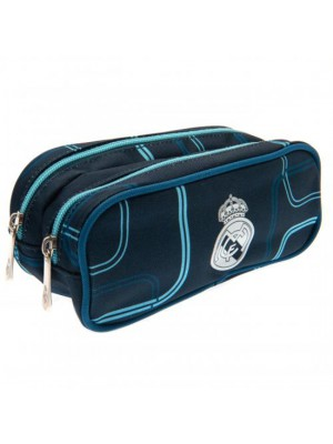 Real Madrid FC Double Zip Pencil Case