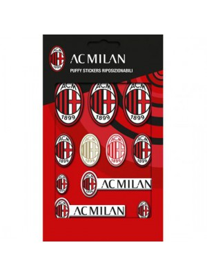 AC Milan Bubble Sticker Set