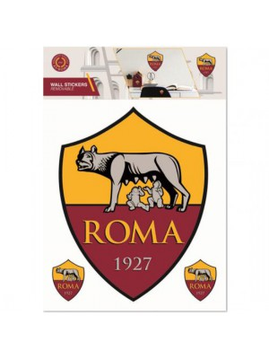 AS Roma Wall Sticker A4