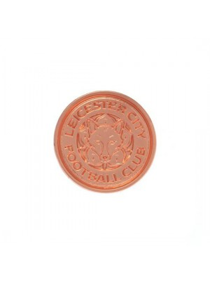 Leicester City FC Rose Gold Plated Badge
