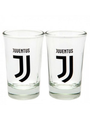 Juventus FC 2 Pack Shot Glass Set
