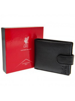 Liverpool FC Black Leather Wallet