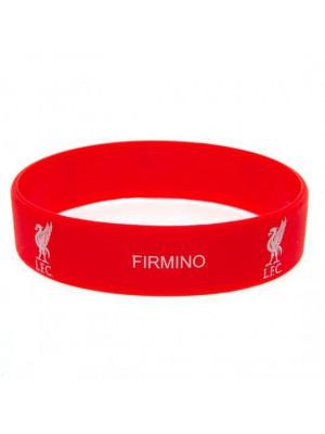 Liverpool FC Silicone Wristband Firmino