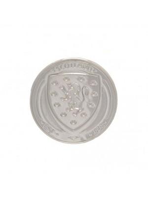 Scotland FA Silver Plated Badge