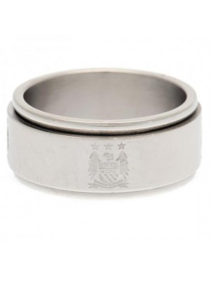Manchester City FC Spinner Ring Small EC