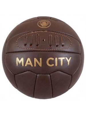 Manchester City FC Retro Heritage Football