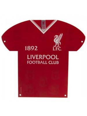 Liverpool FC Metal Shirt Sign LB
