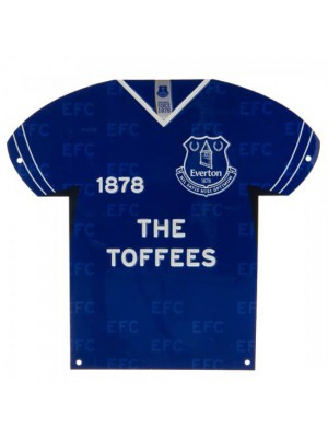 Everton FC Metal Shirt Sign