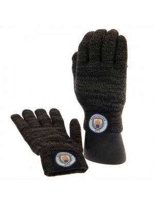 Manchester City FC Luxury Touchscreen Gloves Adult