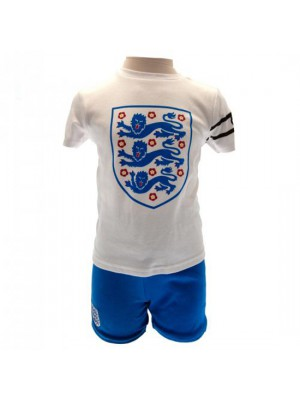 England FA T Shirt & Short Set 9/12 Months