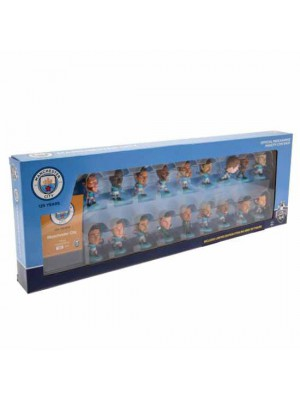 Manchester City FC SoccerStarz 18 Player Team Pack